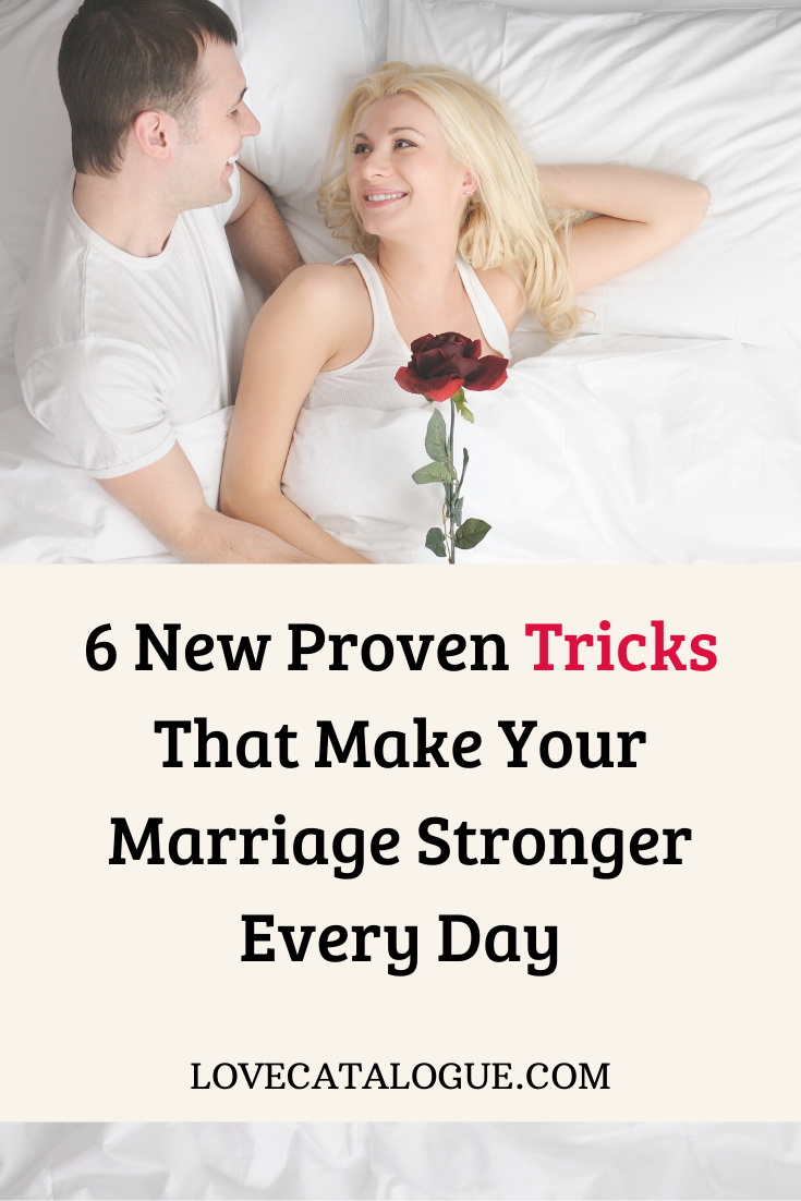 How to strengthen your relationship or marriage