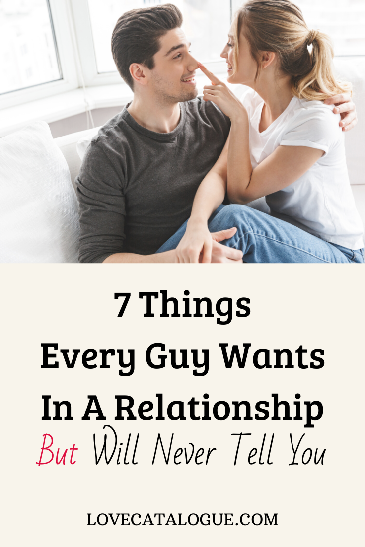 Of relationship a when a out wants man What Does