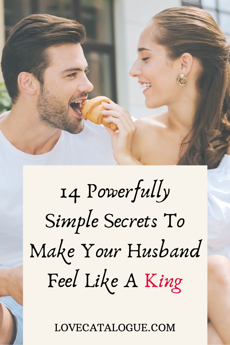 how to treat your husband like a king
