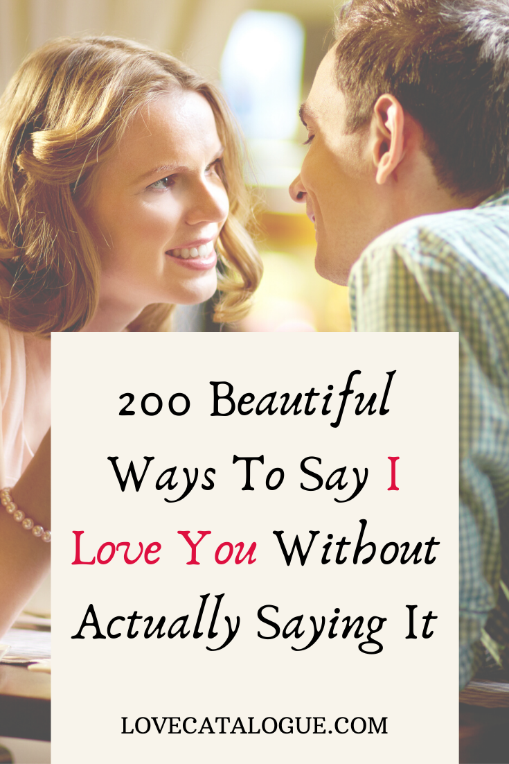 ways to say I love you to him