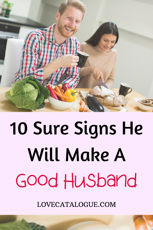 signs of a good boyfriend