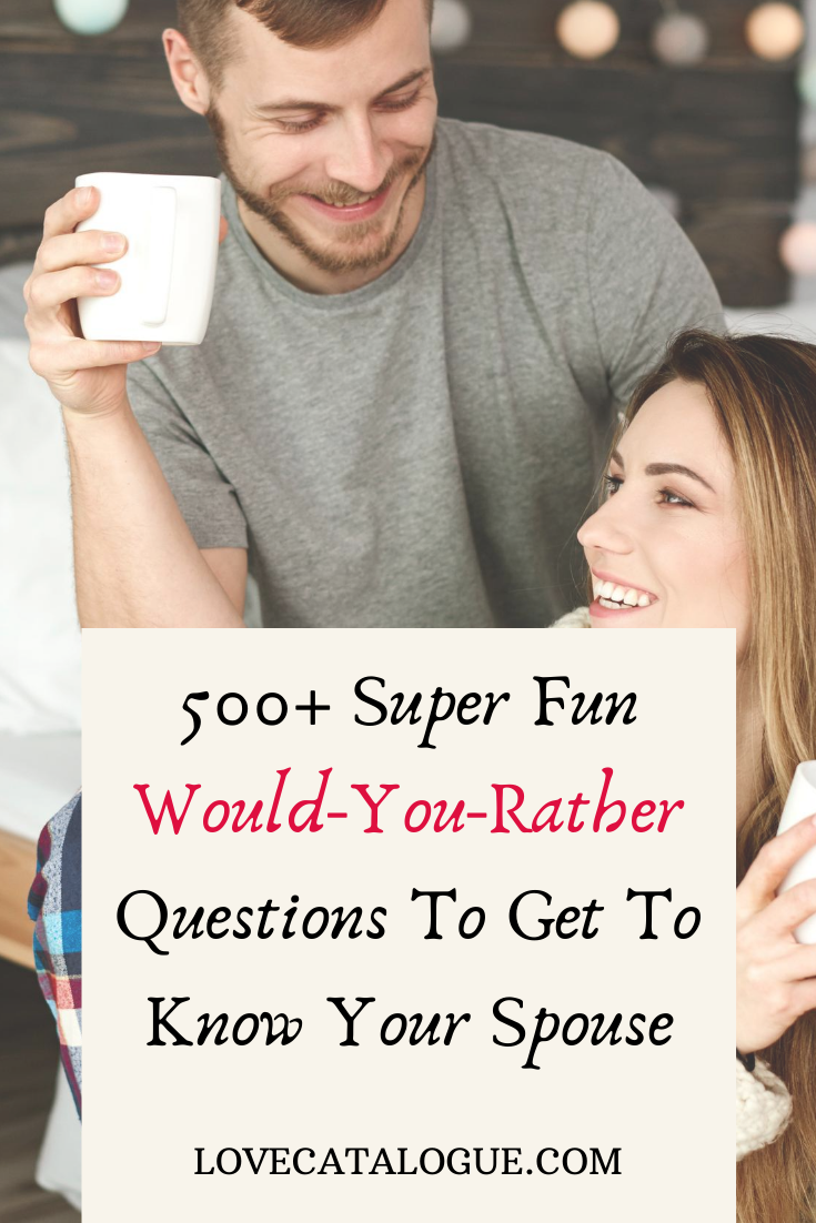 would you rather questions for couples